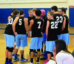 North Rose-Wolcott vs. Midlakes boys volleyball