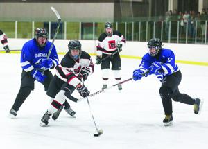 Geneva vs. Batavia hockey