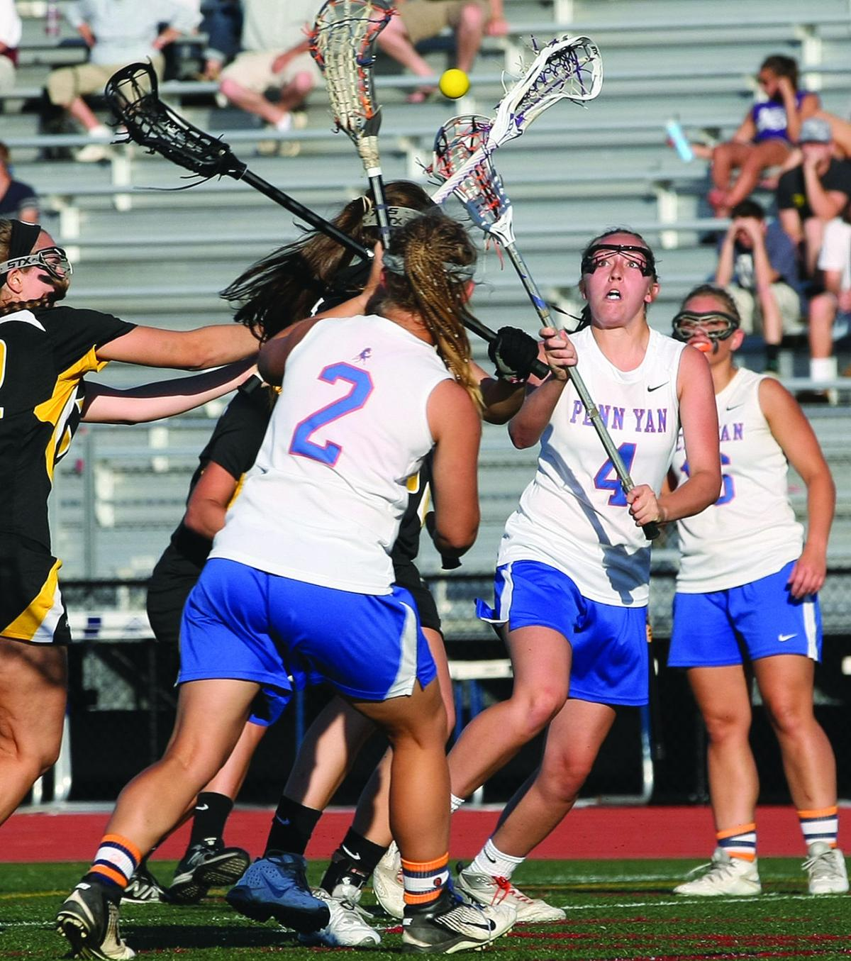 penn yan girls Palmyra-macedon wins second straight class d girls lacrosse title over penn yan emma arnold had nine points on six goals and three assist to lead the red.