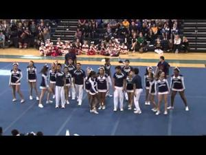 Summit High School cheerleaders 2016