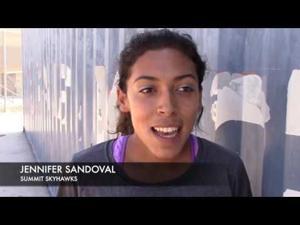 Jennifer Sandoval, Summit High School track