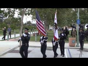 Peace Officers Memorial Ceremony in Fontana