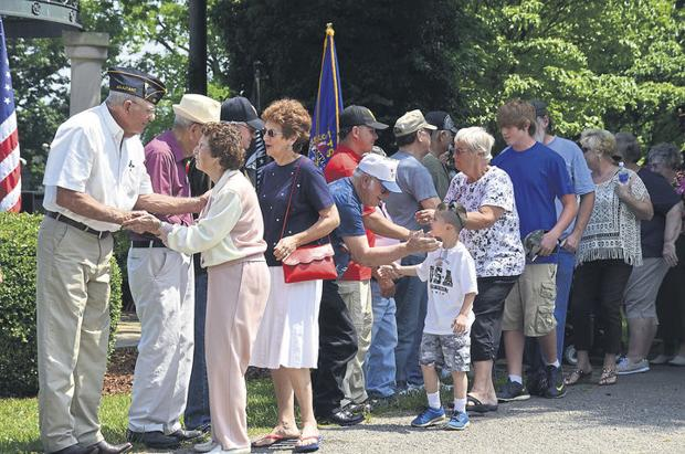 Amvets hold a day of remembrance