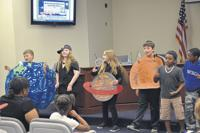 "<p>Students in Mrs. Cindy Sopko's music class demonstrated learning with a new online musical curriculum funded mostly through a grant from FSEEF at last week's school board meeting. ""There are endless learning opportunities (through) the program,"" said Sopko.</p>"