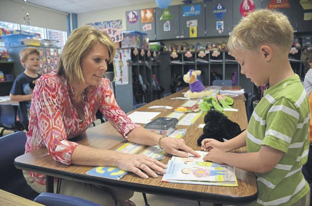 Kindergarten teacher Mann retiring after 35 years in education