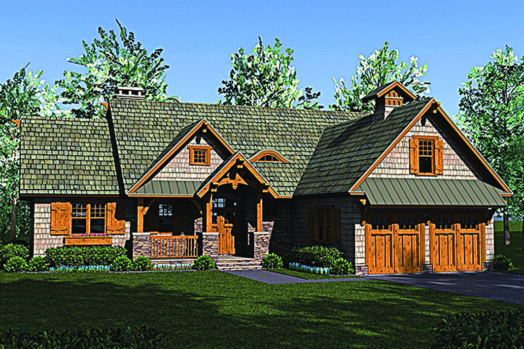 House Of The Week Craftsman Design Has A Wide Open Floor Plan