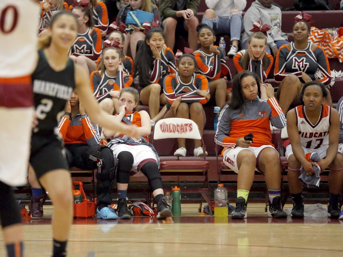 Mountain View vs. Wakefield 5A North second round girls basketball