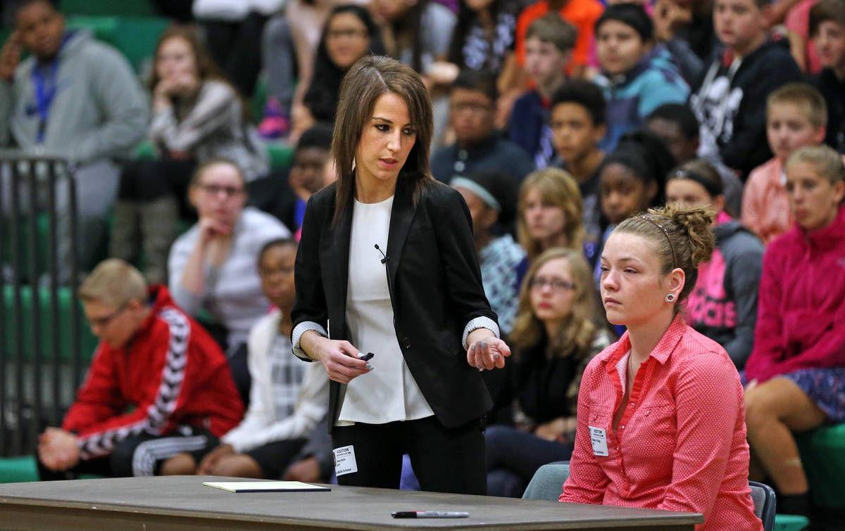 mock trial teaches law lesson to stafford seventh graders mock trial teaches law lesson to 7th graders