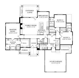 House Of The Week Craftsman Design Has A Wide Open Floor