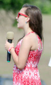 Rylee Hogue sings God Bless America