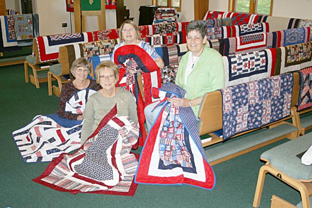 Cass County Holy Stitchers honor area veterans