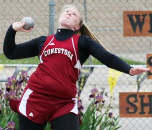 Cass County girls capture honors on second day of state track meet