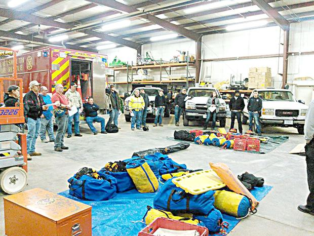 PVFD hones life-saving skills