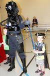 Forces join for Star Wars party