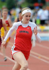 Stansberry, Roumph qualify for 100 finals