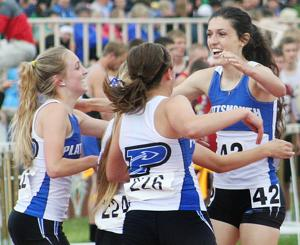 Cass County girls earn medals on first day of state track meet
