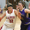 Rilee Holl guards Mead