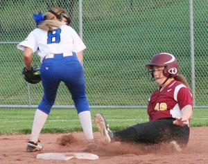 Cougars motor past Blue Devils in softball showdown