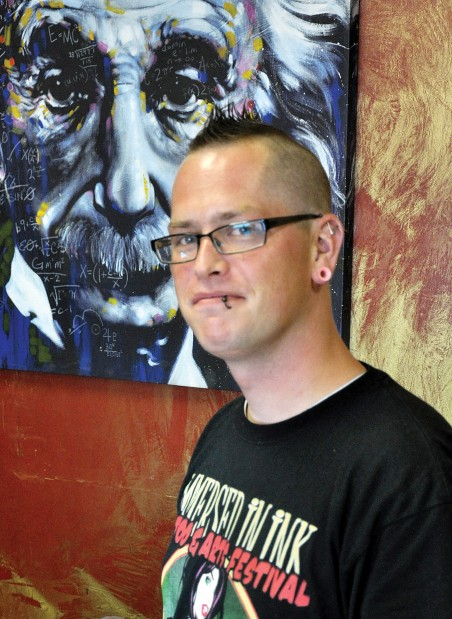 Tattoo shop out to make a name for itself local news for Eternal tattoo fremont