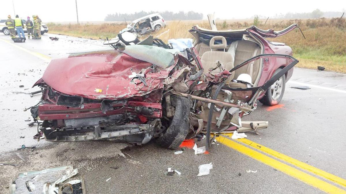 Drivers In Critical Condition Following Two Vehicle Crash