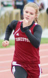 Ruffner wins state track medal for Conestoga