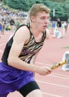 Cass County boys generate points on day two of state track meet