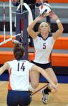 Challenging schedule awaits Midland volleyball team