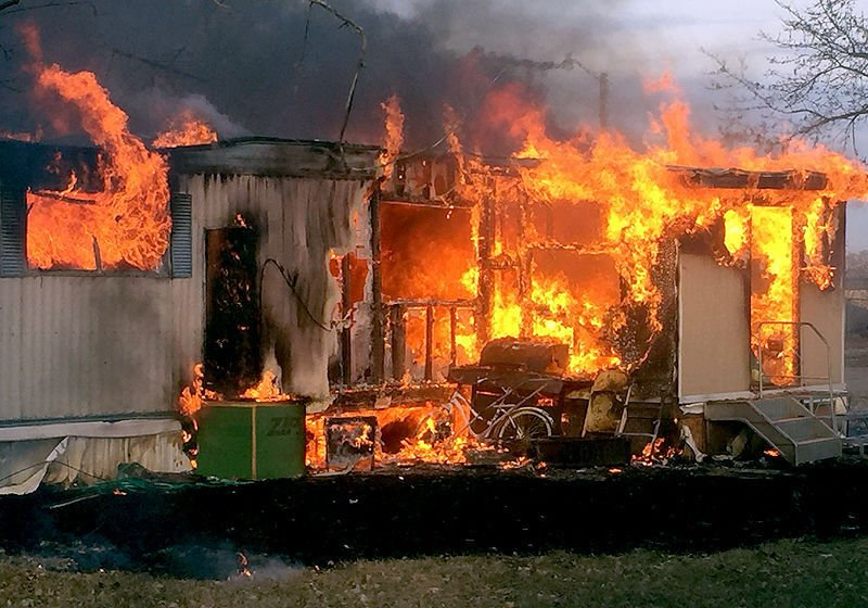 No one hurt in mobile home fire   Local News ...