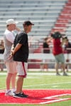 Langsdorf audibles, says scrimmage went 'pretty good'