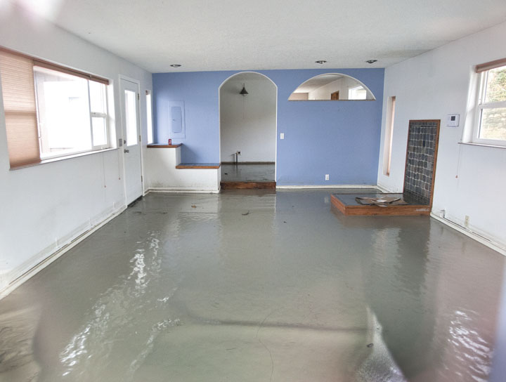 Flooding Wenner House