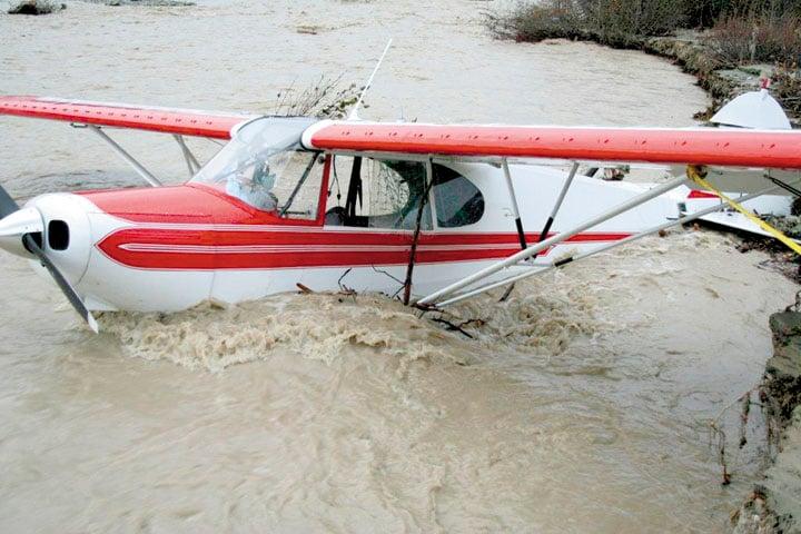 Jim Stocker's airplane