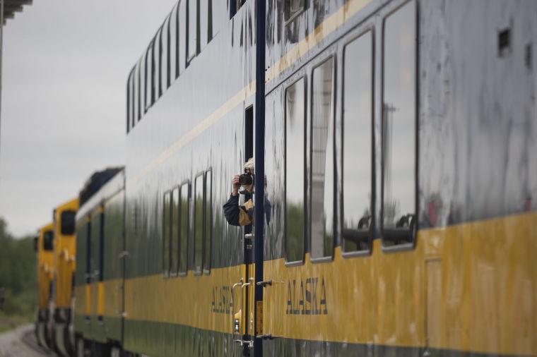 Alaska Railroad Golden Spike Anniversary