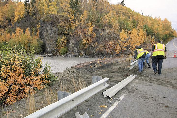 Road Crews Complete Repairs at Hunter Creek Bridge