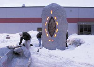 Sculpture revealed
