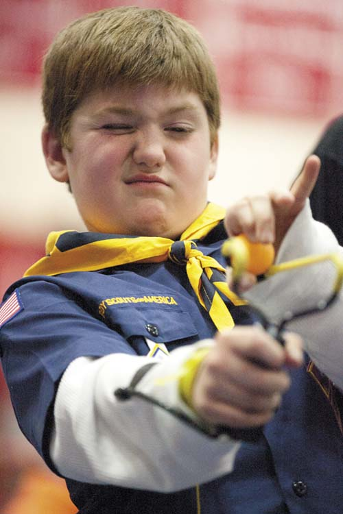 Hundreds pack wasilla high for annual scout o rama valley life