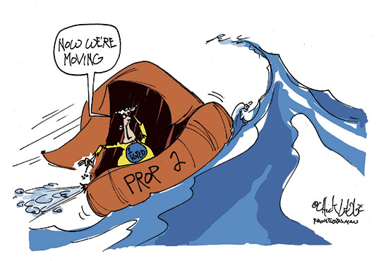 <p>Chuck Legge is a freelance cartoonist. The opinions expressed in his cartoons are not necessarily those of the Mat-Su Valley Frontiersman, its staff or parent company Wick Communications Co.</p>