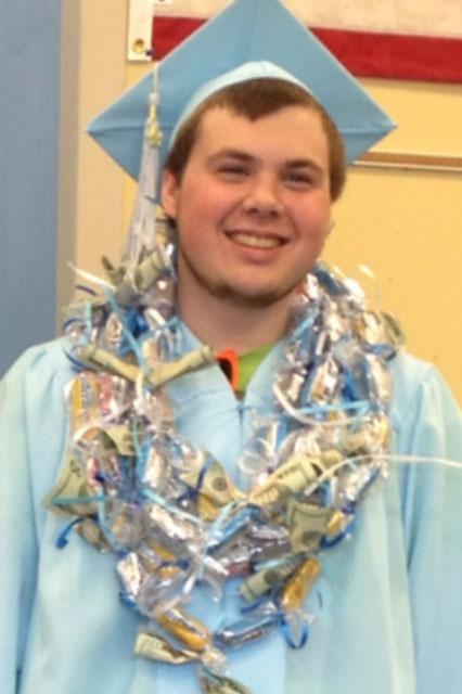 Chris graduating 2012