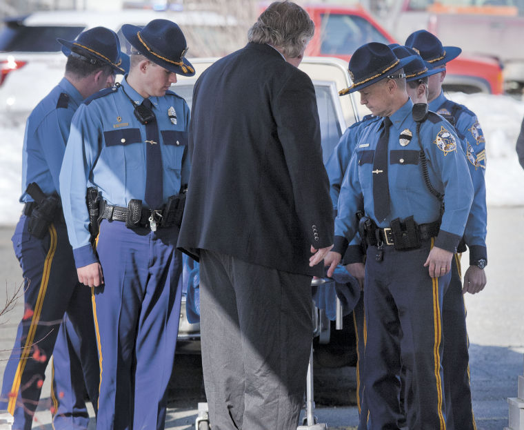 Valley Residents Pause To Pay Respect To Fallen Trooper