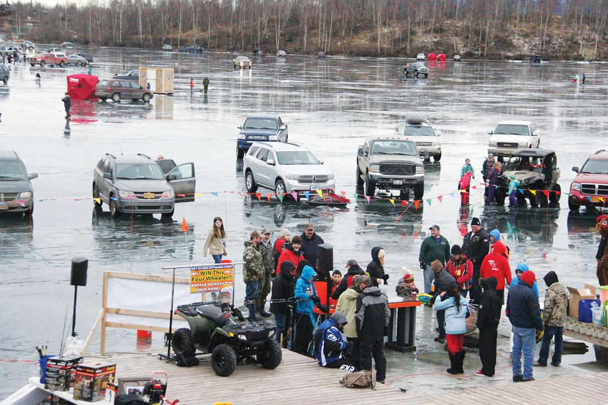 Annual ice fishing derby helps kids chill out valley for Ice fishing derby