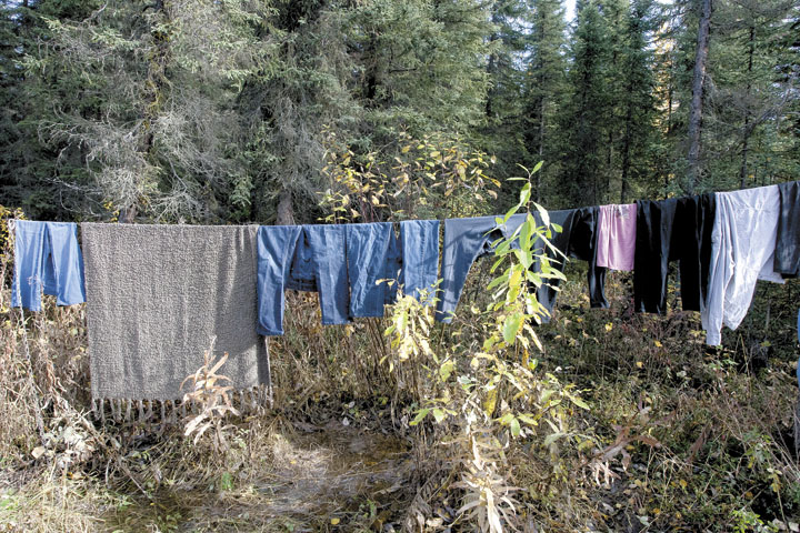 Flooding Houston Clothes Drying