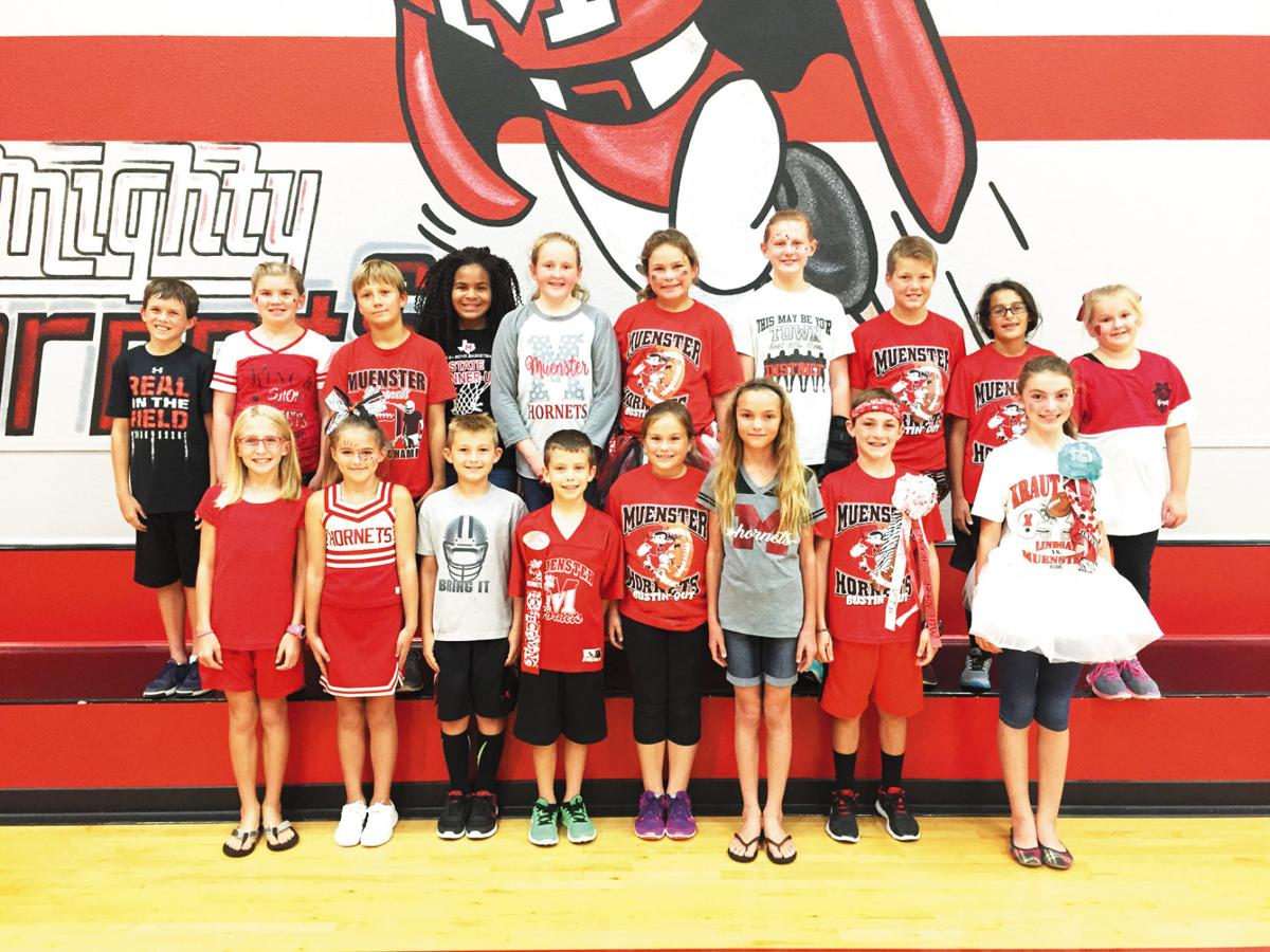 Muenster Elementary Elects Student Council Community