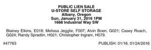 U-Store Self Storage Albany