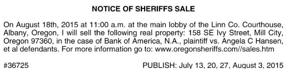 LINN COUNTY SHERIFFS OFFICE