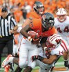 OSU football Woods finding his comfort zone with the offense