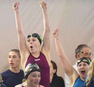 Prep swimming: Sweet Home girls set records, finish second