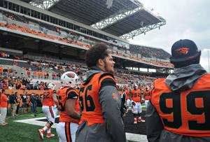 OSU football notebook: Offensive line unsettled at the start of game week