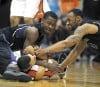 OSU men's basketball Despite a solid effort, Beavers fall short against Huskies