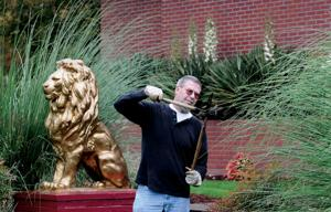 Papa Stro keeps fraternity house in top shape