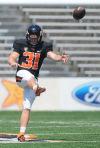 OSU football: Porebski picks up American football quickly