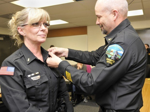 Police Light Bars >> New Benton County Jail commander sworn in | Local | gazettetimes.com